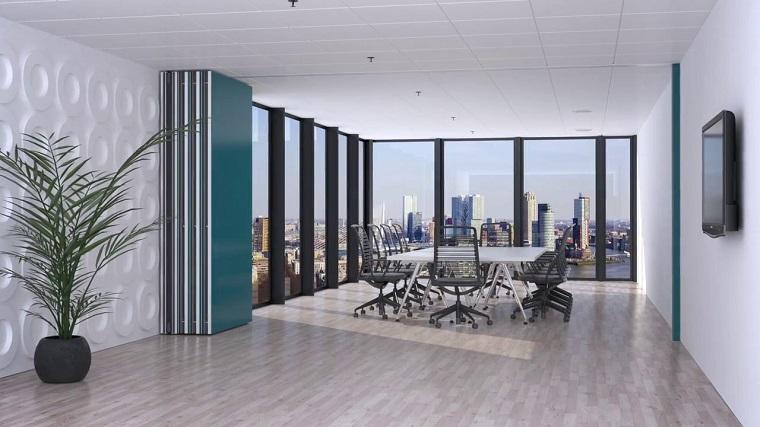 Pareti divisorie mobili tante idee per separare gli for Divisori mobili per ufficio
