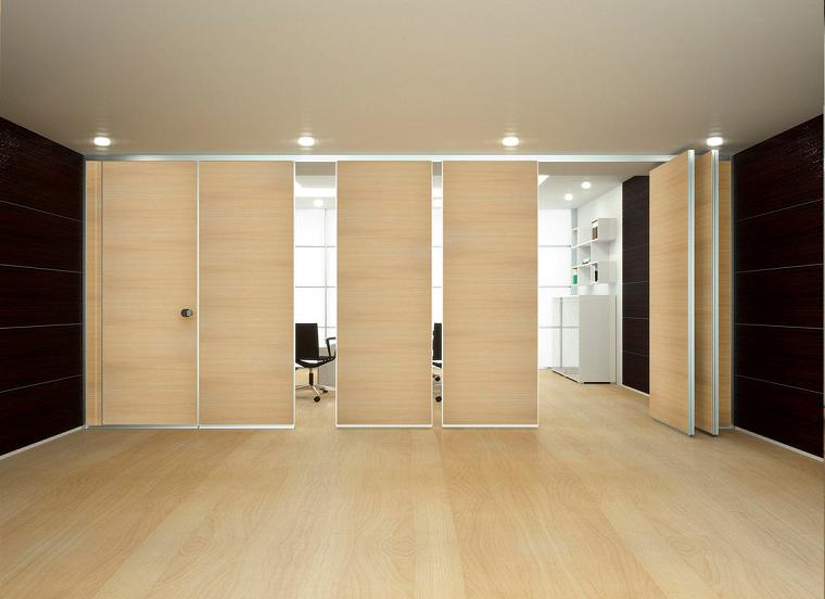 Pareti divisorie mobili tante idee per separare gli for Idee per pareti divisorie