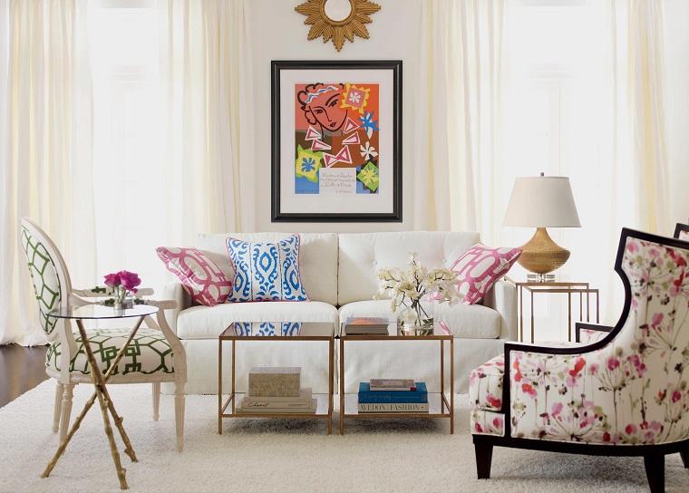 shabby chic-idea-divano-fiori