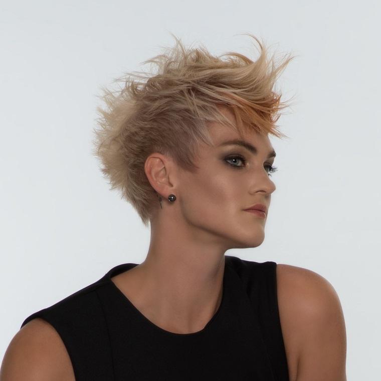 taglio capelli corti-idea-biondo