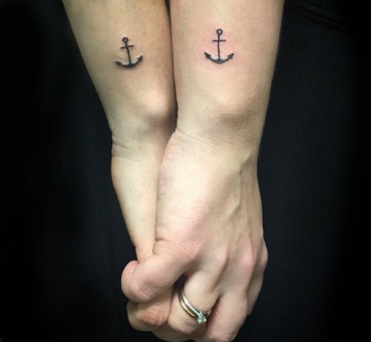 tatuaggi-ancora-coppia-esterno-braccio