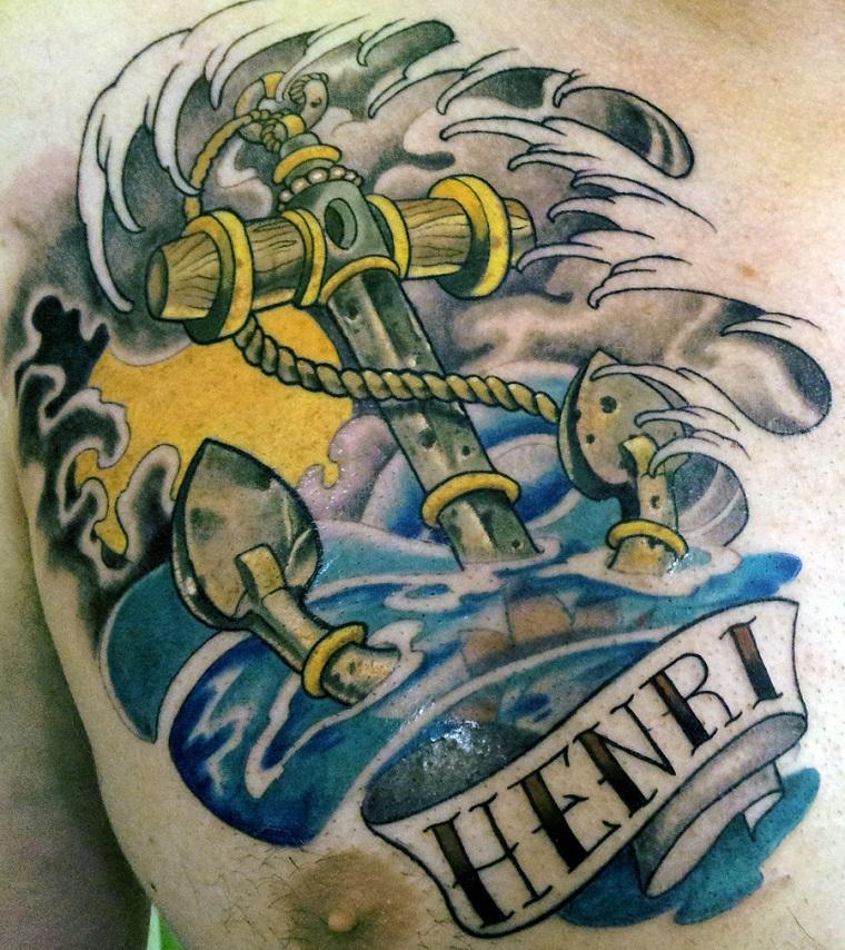 tatuaggi-ancora-idea-tutta-colorata