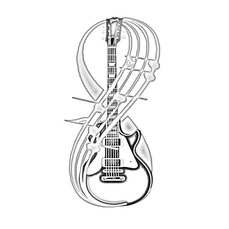 tatuaggi-infinito-idea-chitarra