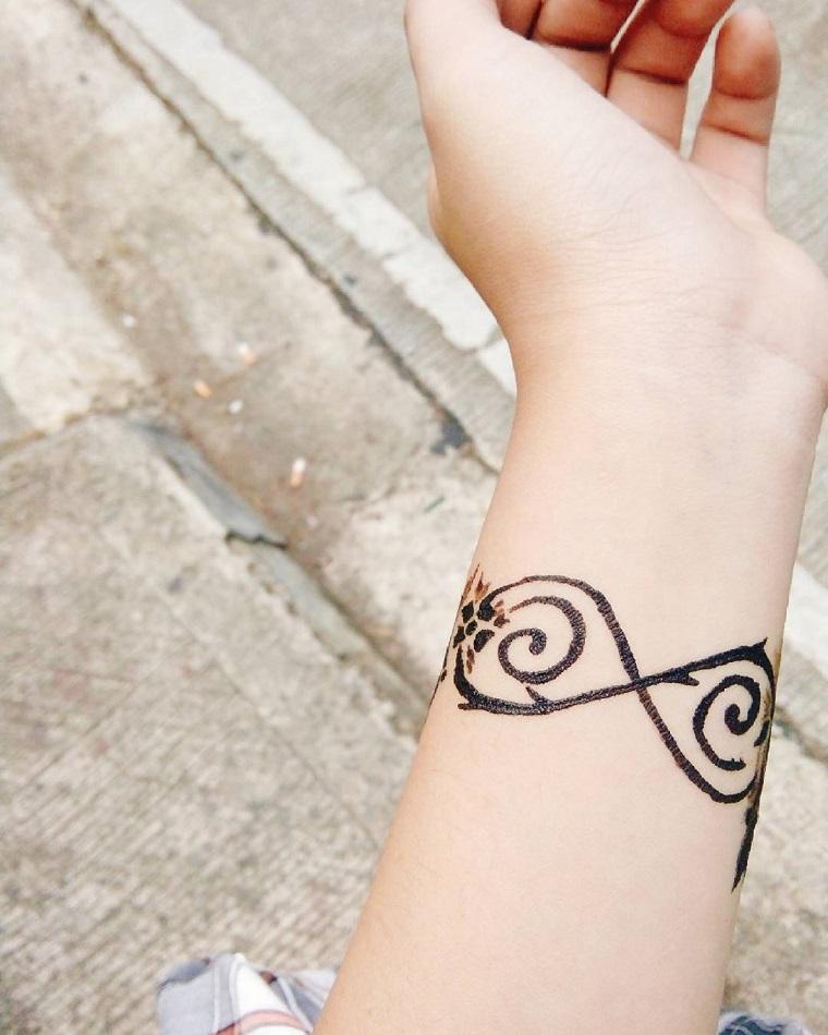 tatuaggio infinito dalla matematica ad oggi un simbolo. Black Bedroom Furniture Sets. Home Design Ideas
