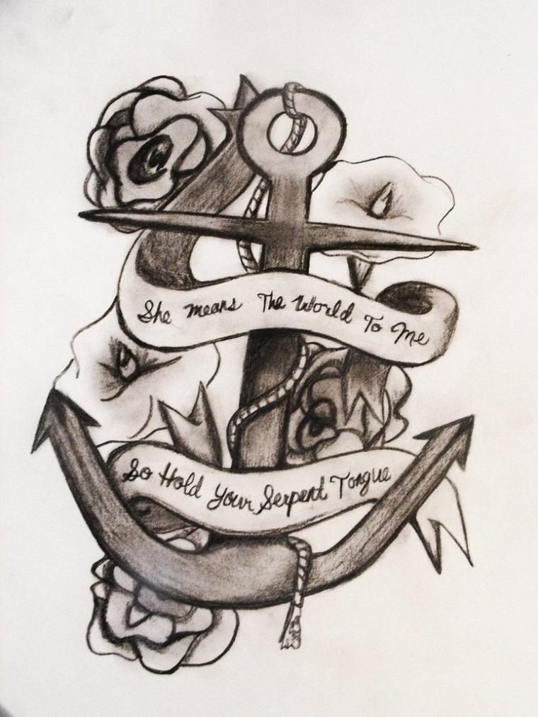 tatuaggio-ancora-proposta-old-style