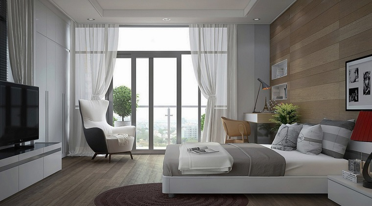 Tende da camera da letto una e pi soluzioni per ogni stile - Tende da camera ...