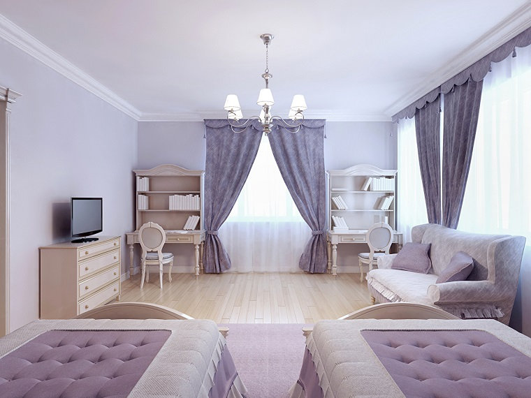 Tende Da Camera Soluzioni Personalizzate : Tende da camera letto una e più soluzioni per ogni