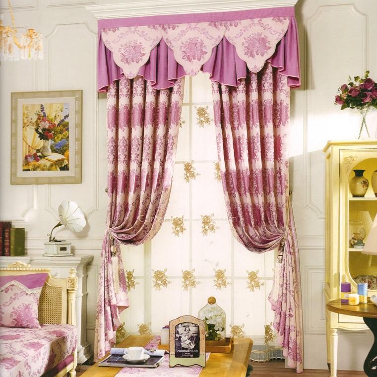tende-da-camera-da-letto-rosa-eleganti