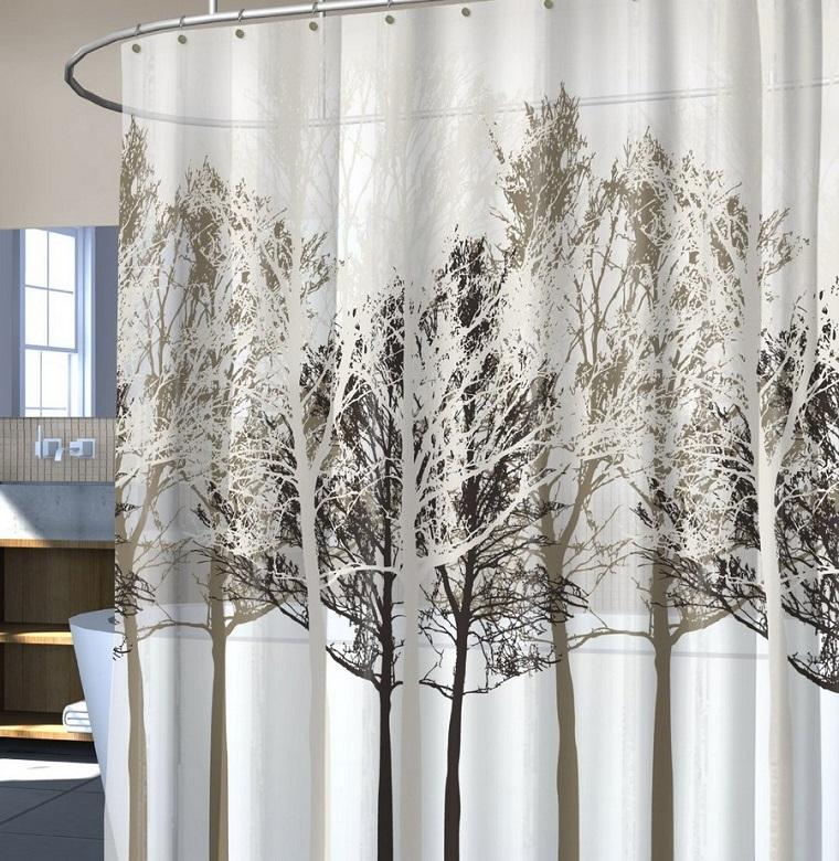 tende-per-bagno-alberi-stilizzati