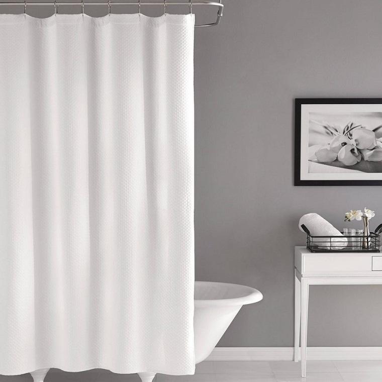 tende-per-bagno-bianca-semplice