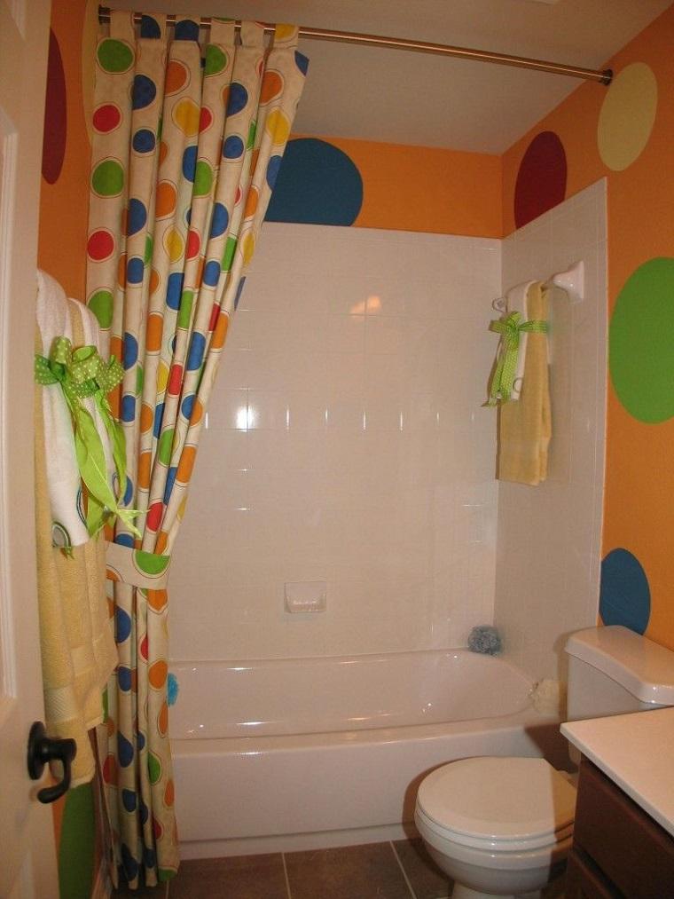 tende-per-bagno-cerchi-colorati