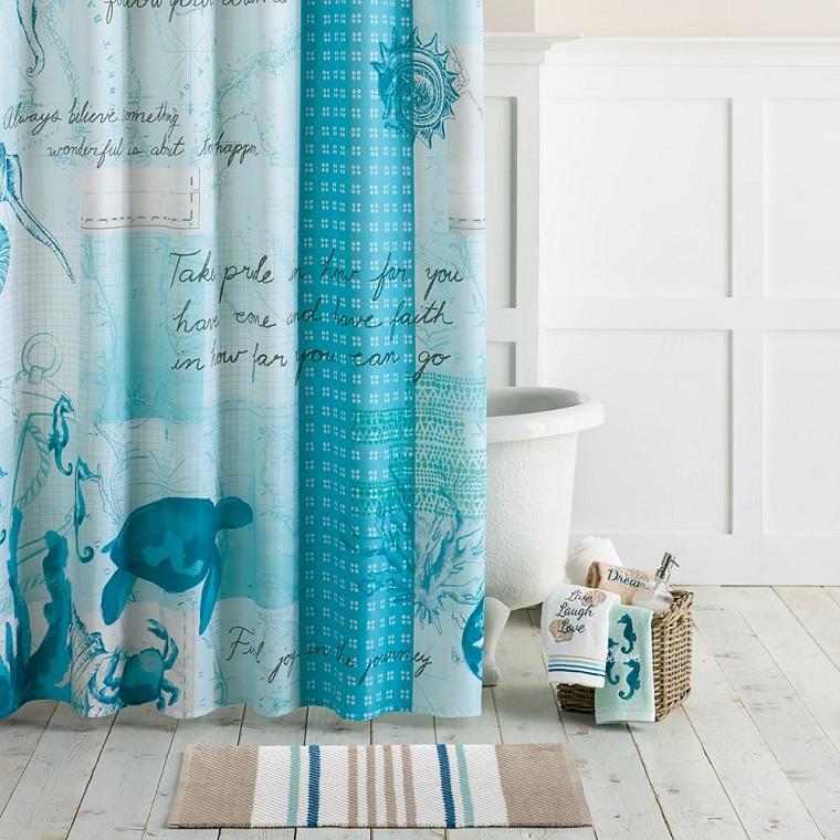 tende-per-il-bagno-bianche-azzurre