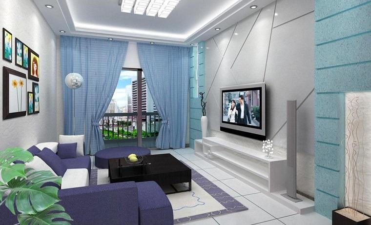 tende-per-soggiorno-azzurro-cielo