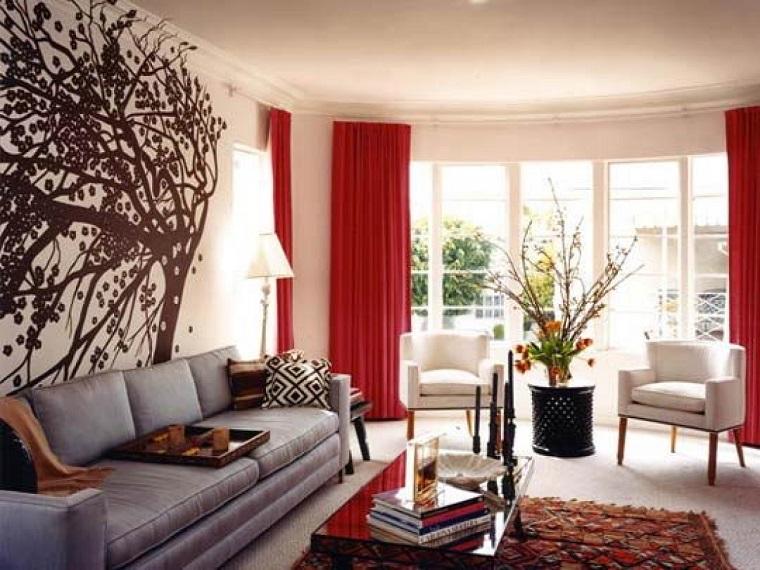 Tende soggiorno: 25 idee per valorizzare la zona living - Archzine.it