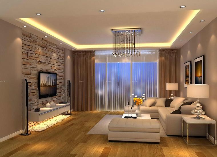 Tende soggiorno 25 idee per valorizzare la zona living for Soggiorno living
