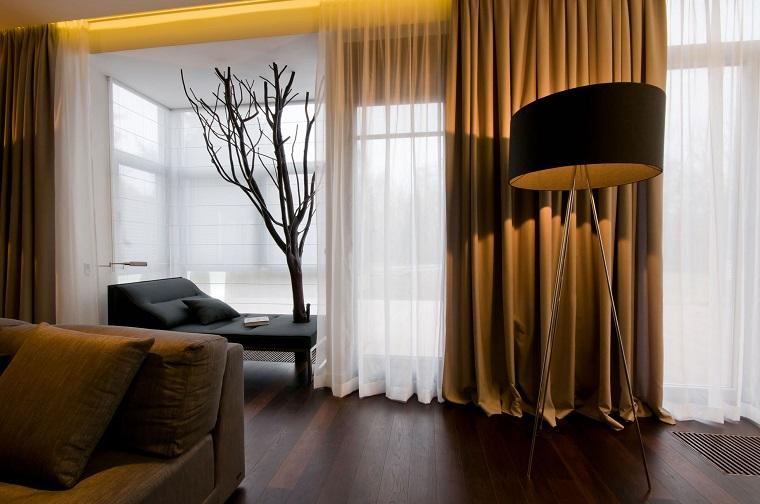 tende soggiorno-eleganti-ocra-bianche