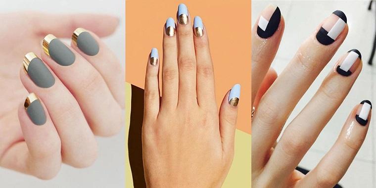 unghie colorate-tre-proposte-matte