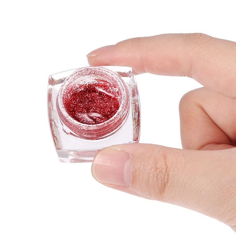 unghie-gel-nail-art-glitter-rossi