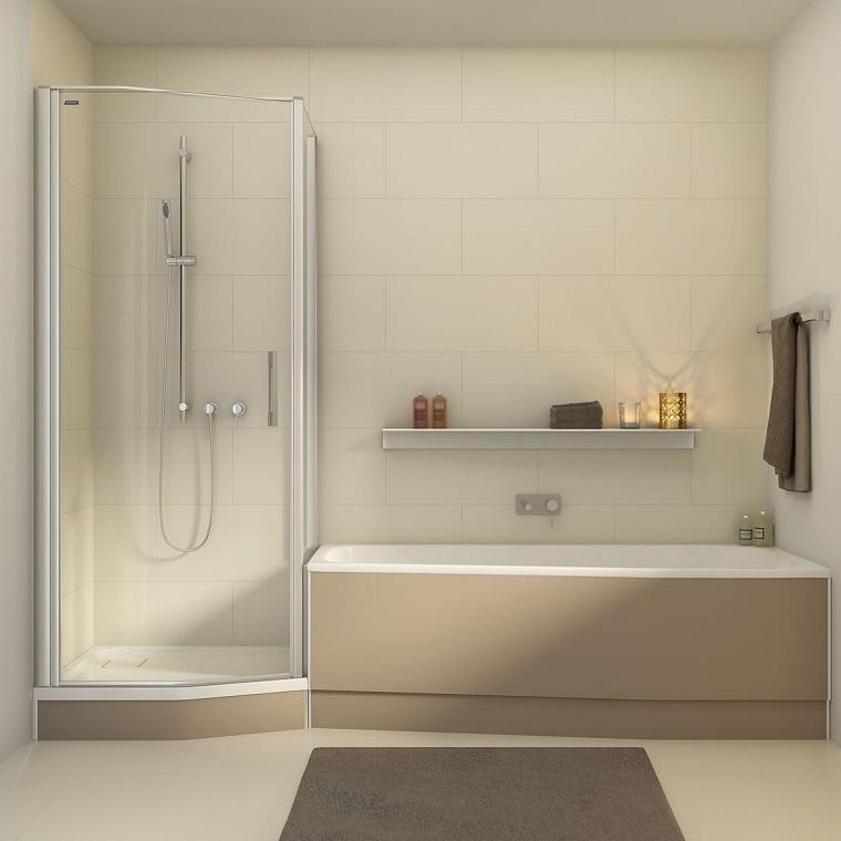 Vasca doccia combinata la soluzione perfetta tutto in uno - Da vasca da bagno a doccia ...