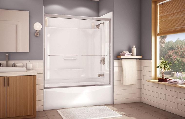 Vasca doccia combinata: la soluzione perfetta tutto in uno - Archzine.it