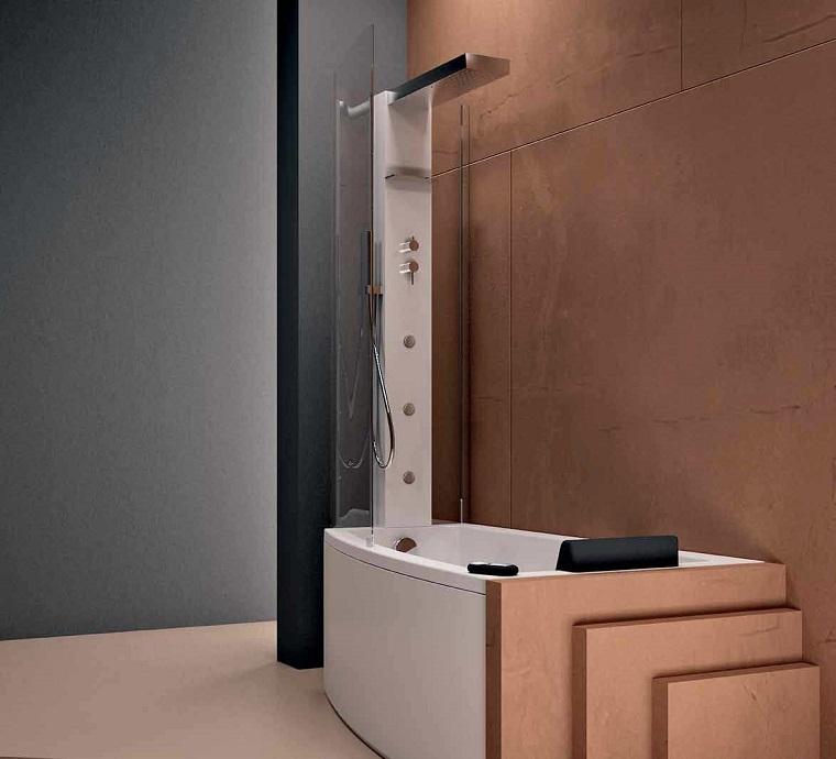 Vasca doccia combinata la soluzione perfetta tutto in uno - Vasca da bagno combinata ...