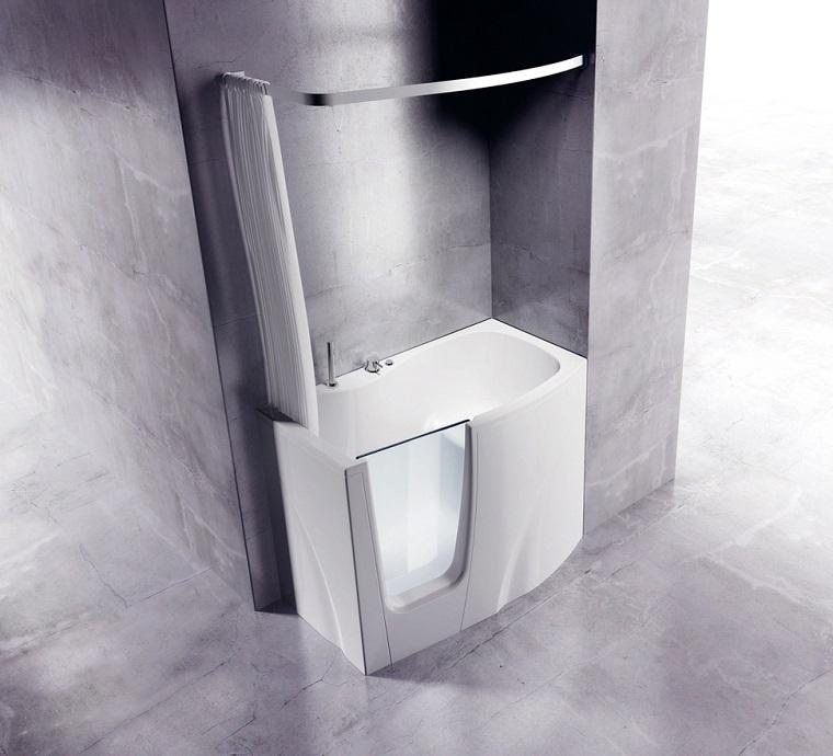 vasca doccia combinata-dimensioni-ridotte