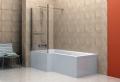 Vasca doccia combinata: la soluzione perfetta tutto in uno
