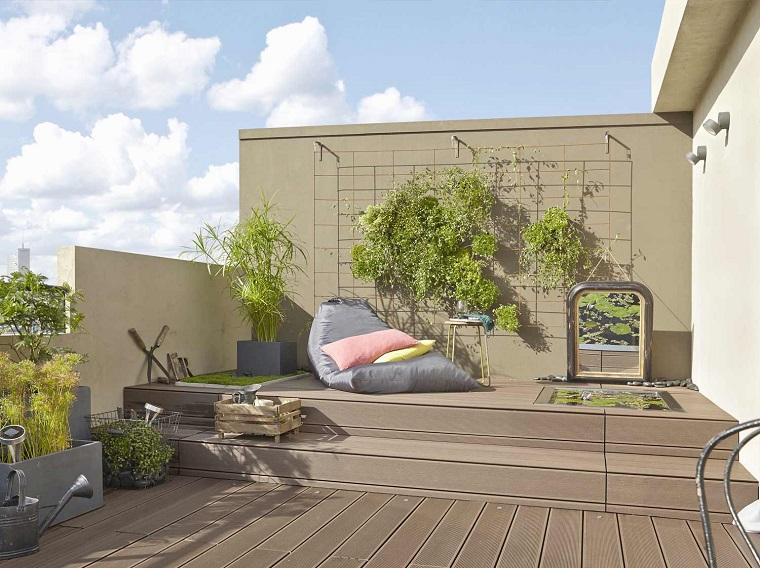 arredare terrazzo appartamento-soluzione-moderna
