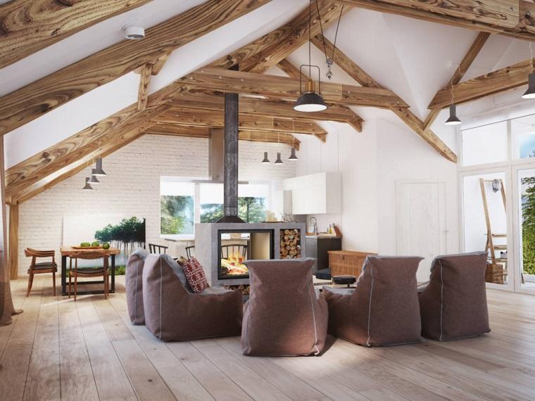camini-rustici-idea-centro-soggiorno-poltrone-imbottite-travi-vista