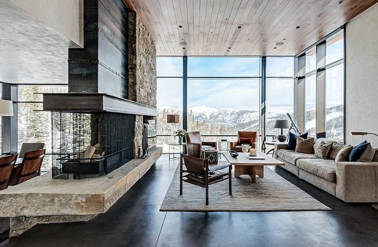 camini-rustici-design-pearson-design -group-mobili-divano-tavolino-rettangolare