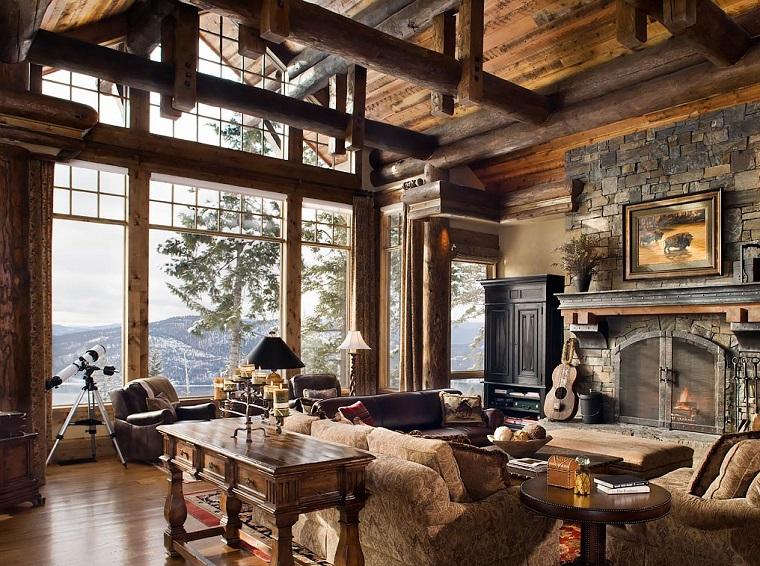 Interni Rustici Ristrutturati : Case in legno interni rustici finest allinterno delle proprie