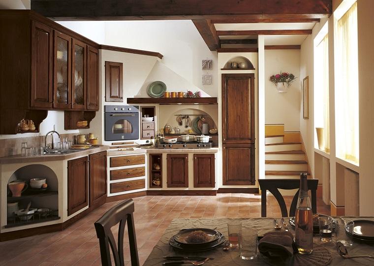 cucina in muratura-angolo
