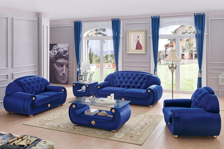 divani-blu-modelli-eleganti