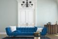 Divano blu: 50 proposte per un arredamento dal classico al moderno