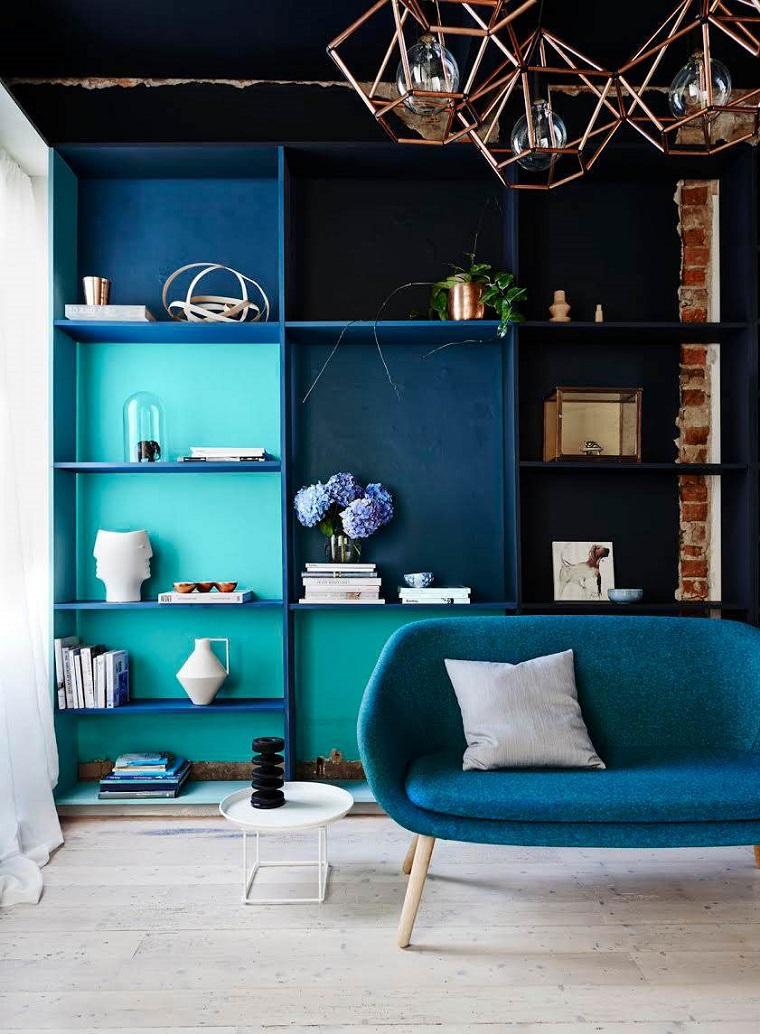 divano-blu-design-retro