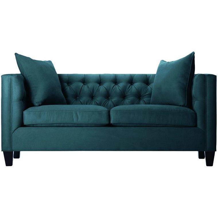 divano blu-due-posti