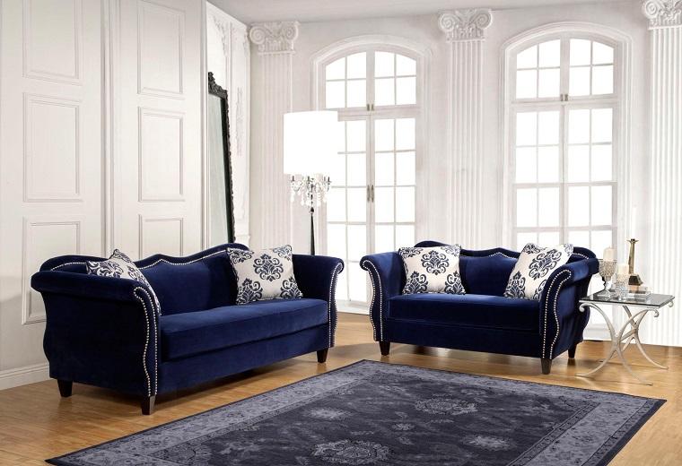 divano-blu-proposta-raffinata
