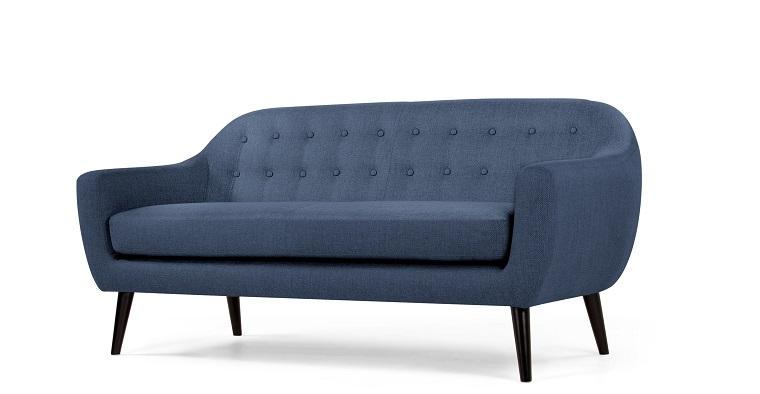 divano-blu-stile-vintage