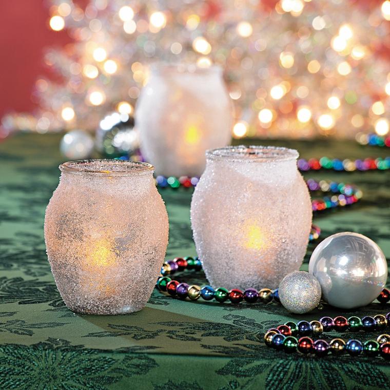 idee-regalo-natale-opzione-fai-da-te-vasetti-forma-anfora-glitterati-interno-candele