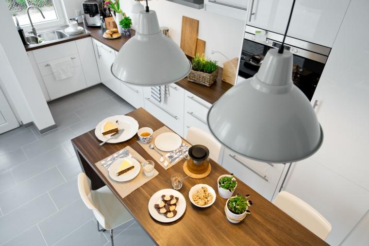 Tavoli Da Pranzo In Legno Ikea : ▷ 1001 idee per le cucine ikea: praticità qualità ed estetica