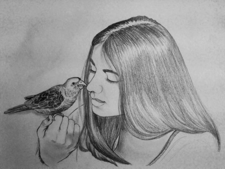 Immagini di disegni a matita portalebambini for Disegni facili da disegnare a matita