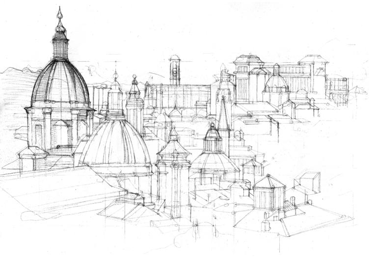 Disegni paesaggi a matita facili dd43 regardsdefemmes for Fiori da disegnare facili