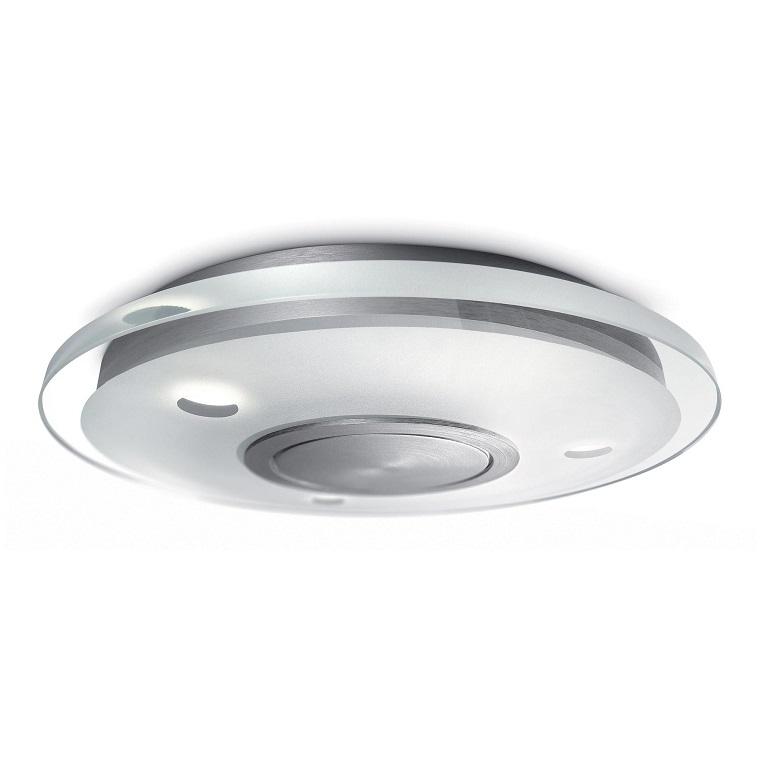 lampadari-bagno-plafoniera-tonda-acciaio