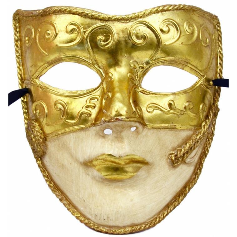 maschera-veneziana-proposta-volto-intero-parte-bassa-bianca-parte-alta-oro-decorazioni