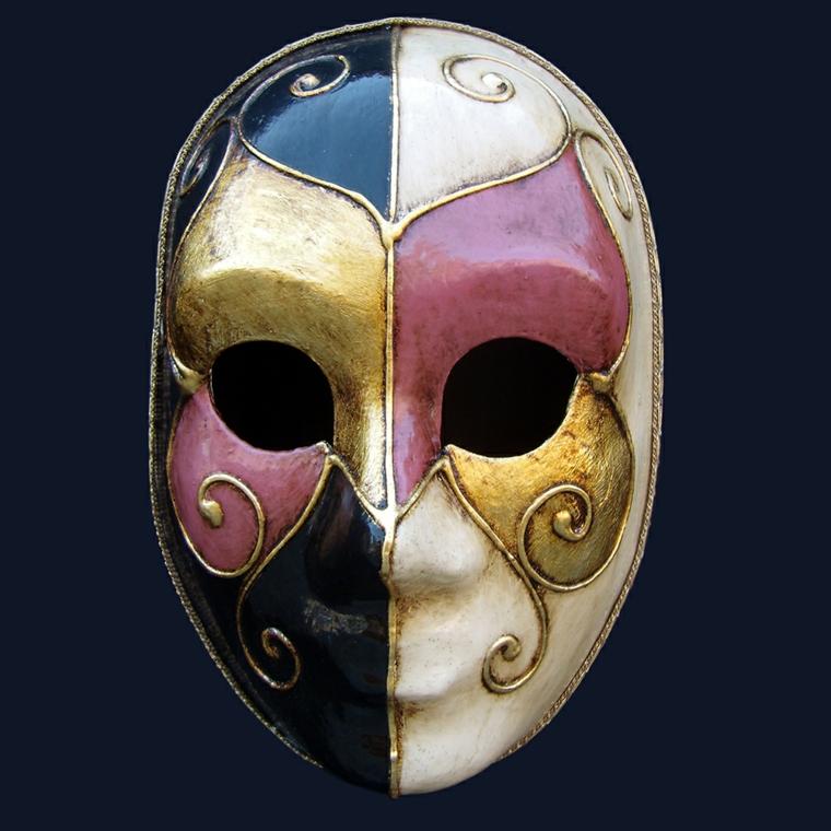 maschere-di-carnevale-volto-intero-colorata-rosa-blu-oro-nero-decorazioni