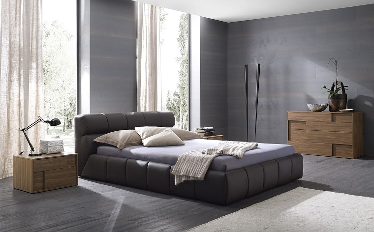 pareti grigie-camera-letto-tinta