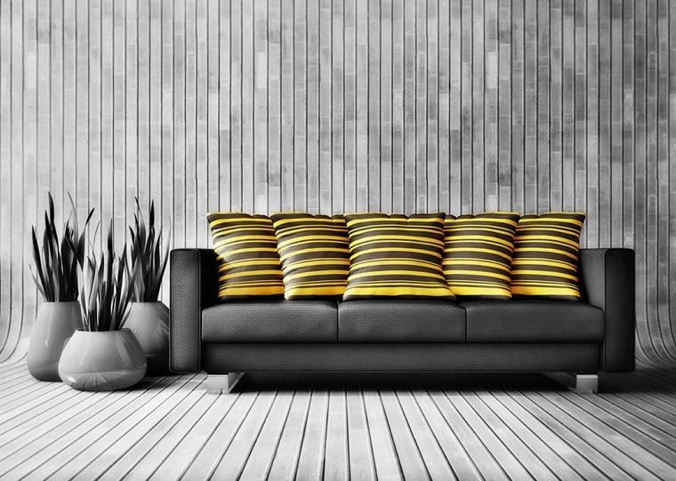 pareti grigie-idea-decorativa-originale