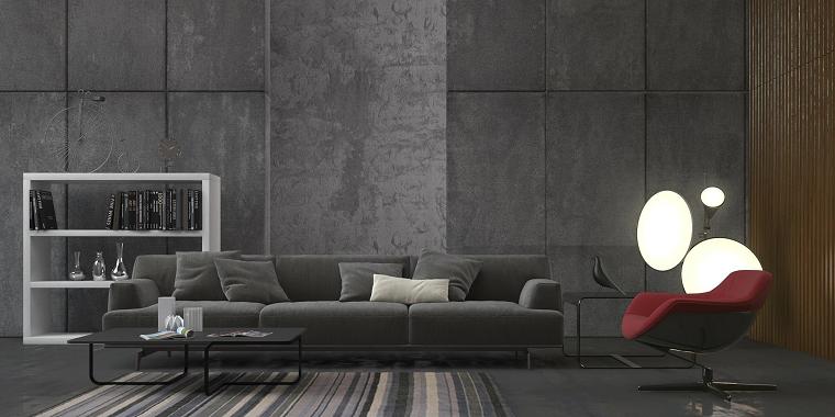 pareti grigie-living-design