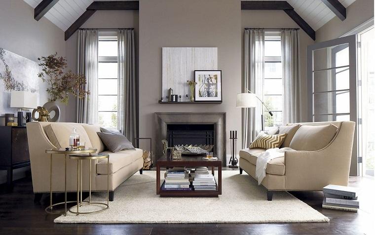 pareti-grigio-tortora-divani-bianchi
