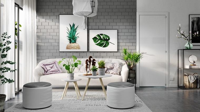 pavimenti-grigi-salotto-accenti-verdi